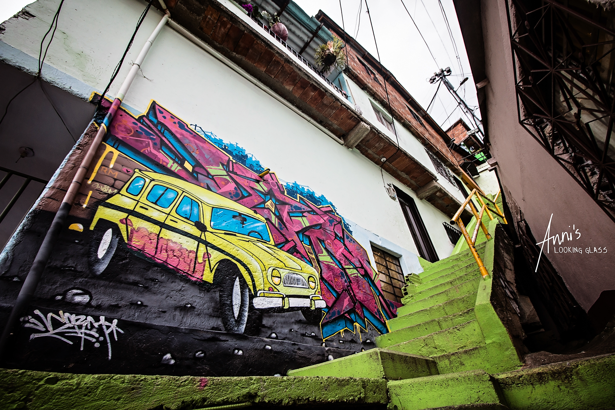 6 - Visiting Colombia and photographing the street art in Medellin was a dream come true for me