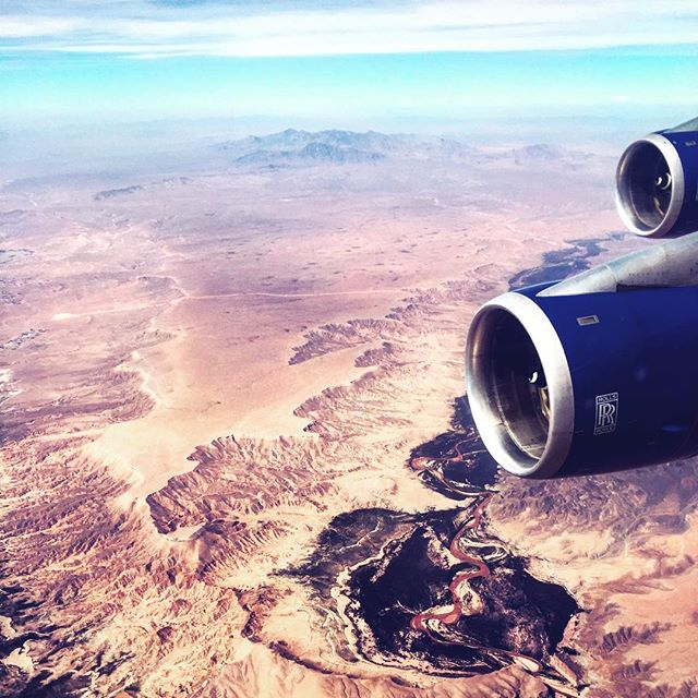 Pastel hues and Grand Canyon views 💙💜💗💛 Today en route to Sin City • • • • • • • • #lasvegas #sincity #grandcanyon #nevada #landscape #pastel #crewlife #cabincrew #cabincrewlife #aviation #fly #flight #britishairways #rollsroyce #boeing #boeing747 #aviationphotography #planegeek #avgeek #onboard #travel #explore #wanderlust #passport #instatravel #instabeauty #potd #wanderlustwednesday #travelgram #girlswhotravel