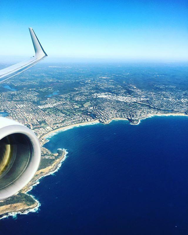 STRAYA 🇦🇺 you bloody beauty.. it's good to be home! • • • • • • #straya #australia #sydney #beach #beaches #plane #viewfromthetop #crewlife #cabincrew #britishairways #bacabincrew #lifeofadventure #cabincrewlife #aviation #travel #qantas #avgeek #adventure #instabeauty #instatravel #instagood #instadaily #travelgram #explore #wanderlust #girlswhotravel #girlswhoexplore #instaadventure #holidays #vacation