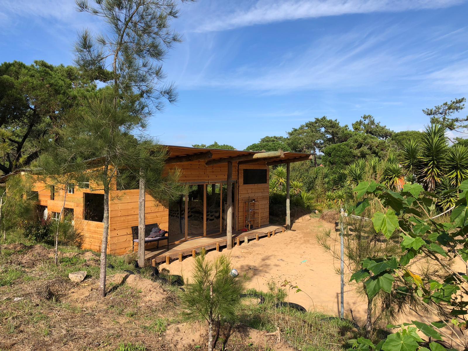 wooden pavilion for events/retreats