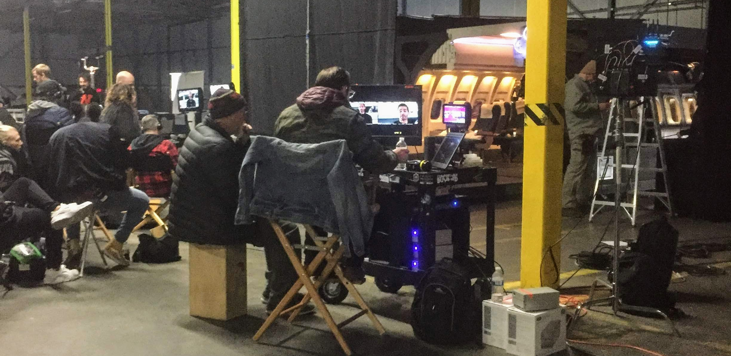 On location in the Town of Ulster at Tech City Soundstages with CAN YOU KEEP A SECRET?