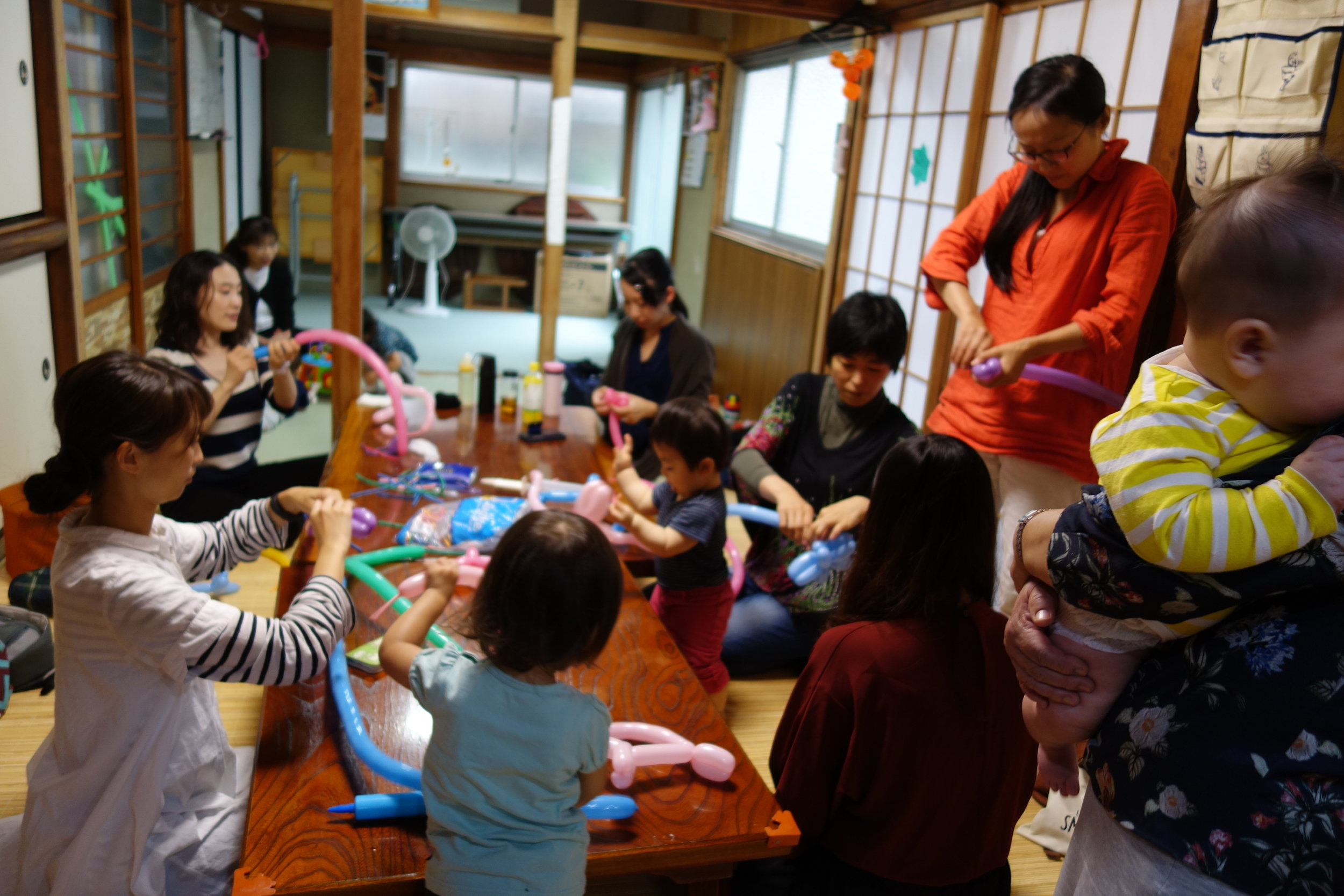 ばびぶ☆ベビー - 第2月曜日 10:00~14:00親子向けの子育てサロンです。季節ごとに様々なイベントを用意しています。