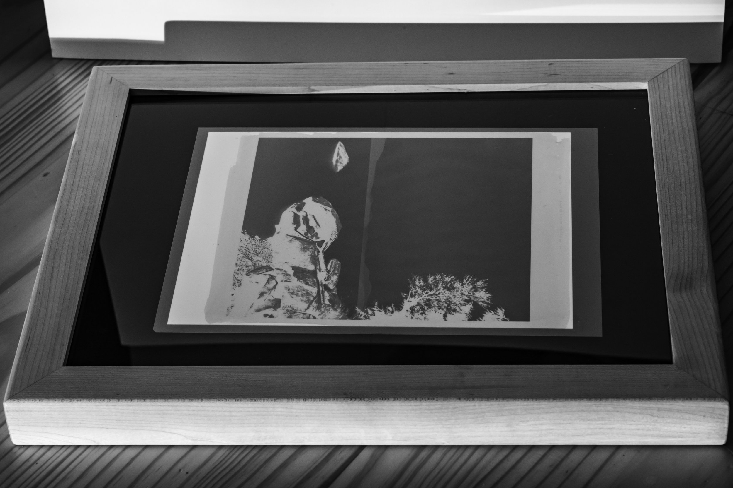Exposure, Part III: - The print is now ready to be exposed. Platinum Palladium prints are sensitive to UV light, so the print needs to be exposed to sun light or in a UV exposure box.I prefer to use an exposure box for the consistency.