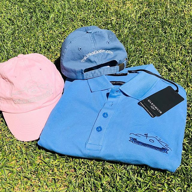 New year, new gear. Glenmuir's best cotton shirt embroidered with the TLG logo. Ready for The Links at Fancourt.  Order yours at www.thelinksgolfer.com. All profits to Alzheimer's Society  #golf #linksgolf #linksgolftravel #glenmuir #fancourtlinks #alzheimerssociety #golfwear