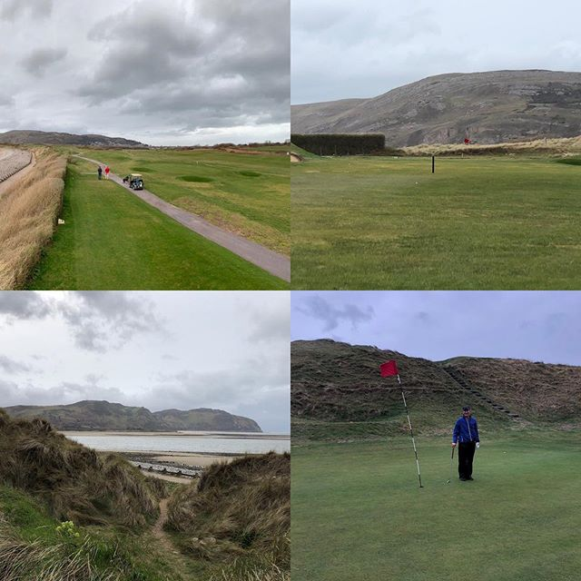 North Wales Golf Club. A Links course of huge variety, lovely views and some towering dunes. Post up now at www.thelinksgolfer.com Donation made by NWGC. Many thanks. #alzheimerssociety #linksgolf #glenmuir #golf