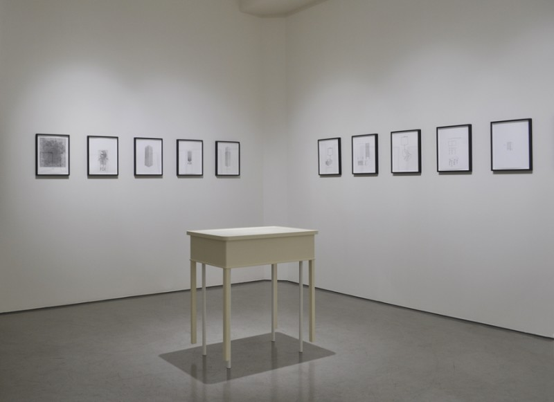 Roy McMakin: Some Drawings and a Table - August 3 – September 7, 2013Quint Contemporary Art, La Jolla