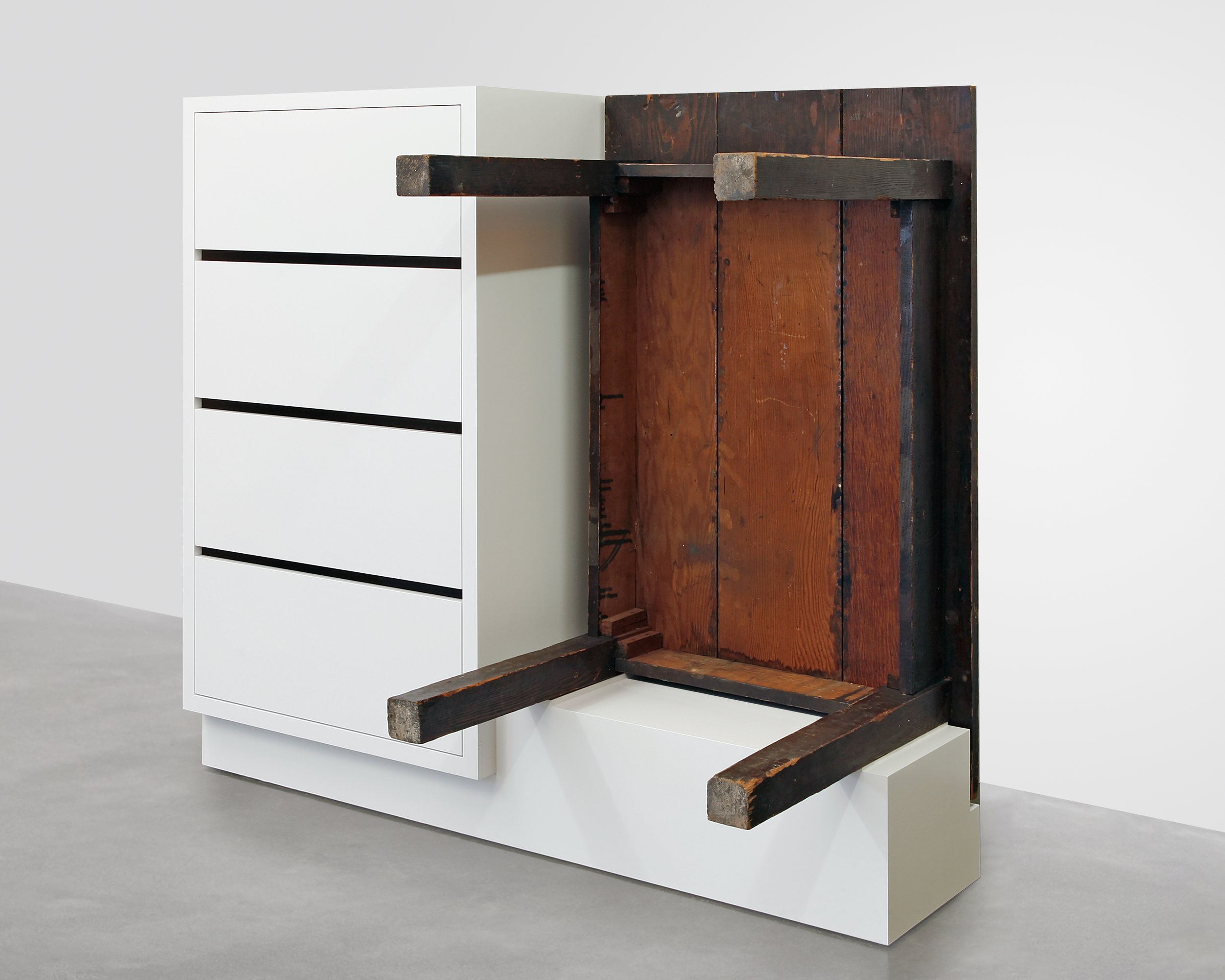 Chest of Drawers with Table, 2016