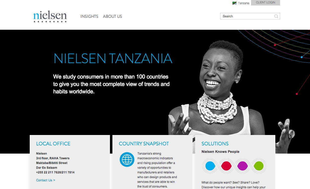 NIELSEN - Nielsen commissioned CAM to source photographers in their expanding African and Asian markets. Additionally, strategize the best way to achieve multi country representation on a limited budget. We were able to cast and shoot models from 15 countries in 2 shoot days on 2 separate continents with photographers Kevin Yang and Osborne Macharia.OUR SERVICESPhotographer Sourcing / Casting / Pre Production Admin / On Set Production /On Set Art Direction / Lighting SupervisionLOCATIONSNairobi, Kenya / Singapore
