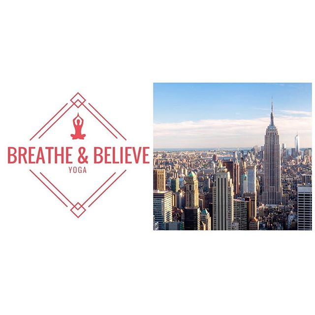 Only 5 more days until our NYC fundraiser! Join us for a one hour all levels flow class on Wednesday July 11th at 4:30pm 🙏🏼 link in bio for tickets/donations #breatheandbelieve
