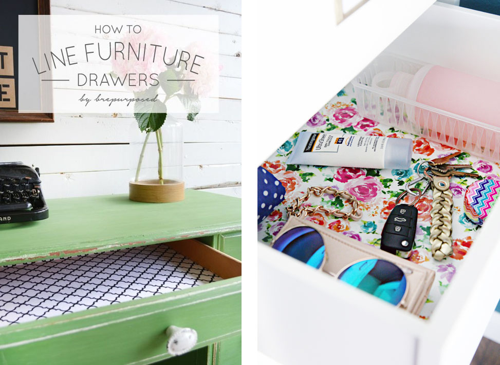 https://brepurposed.porch.com/2015/06/22/how-to-line-furniture-drawers/          http://www.iheartorganizing.com/2015/03/quick-tip-tuesday-gift-wrap-drawer.html?m=1