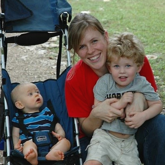 Me & my babies in 2007