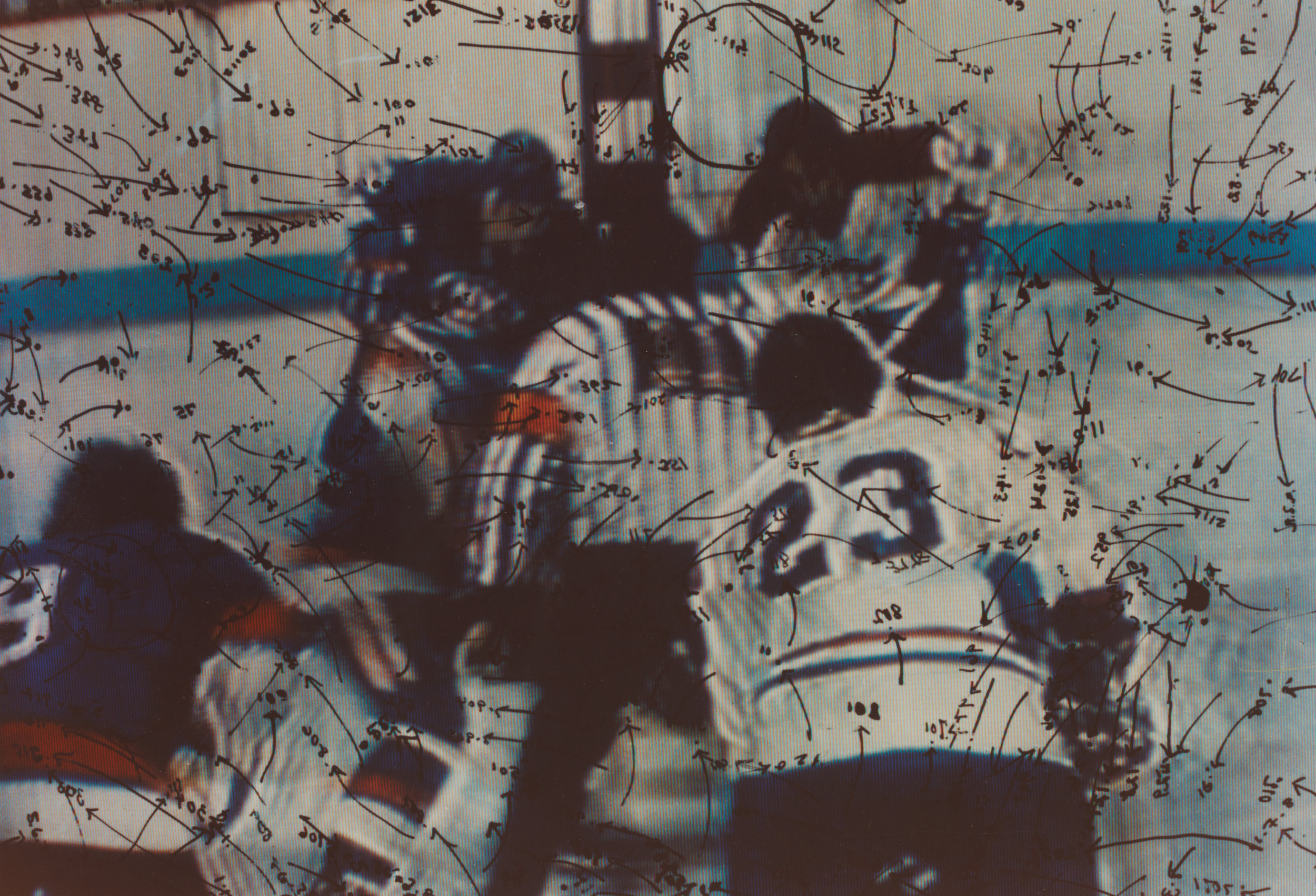 Video Drawings: Hockey, 1975