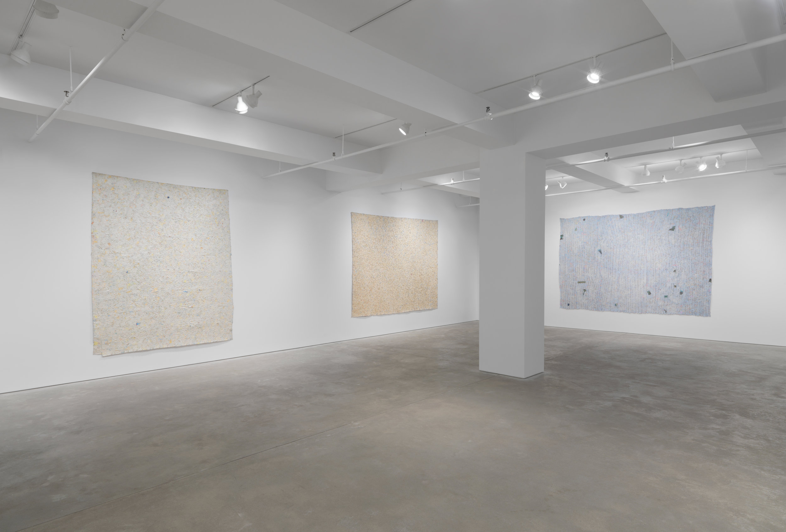 Howardena Pindell: Paintings, 1974–1980 - Garth Greenan Gallery, New York | April 10 – May 17, 2014