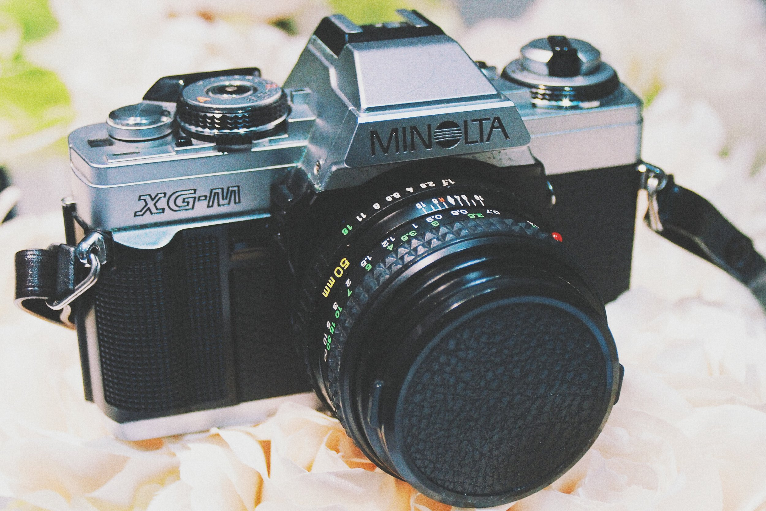 This is my Minolta  XG-M, still works like a treat.