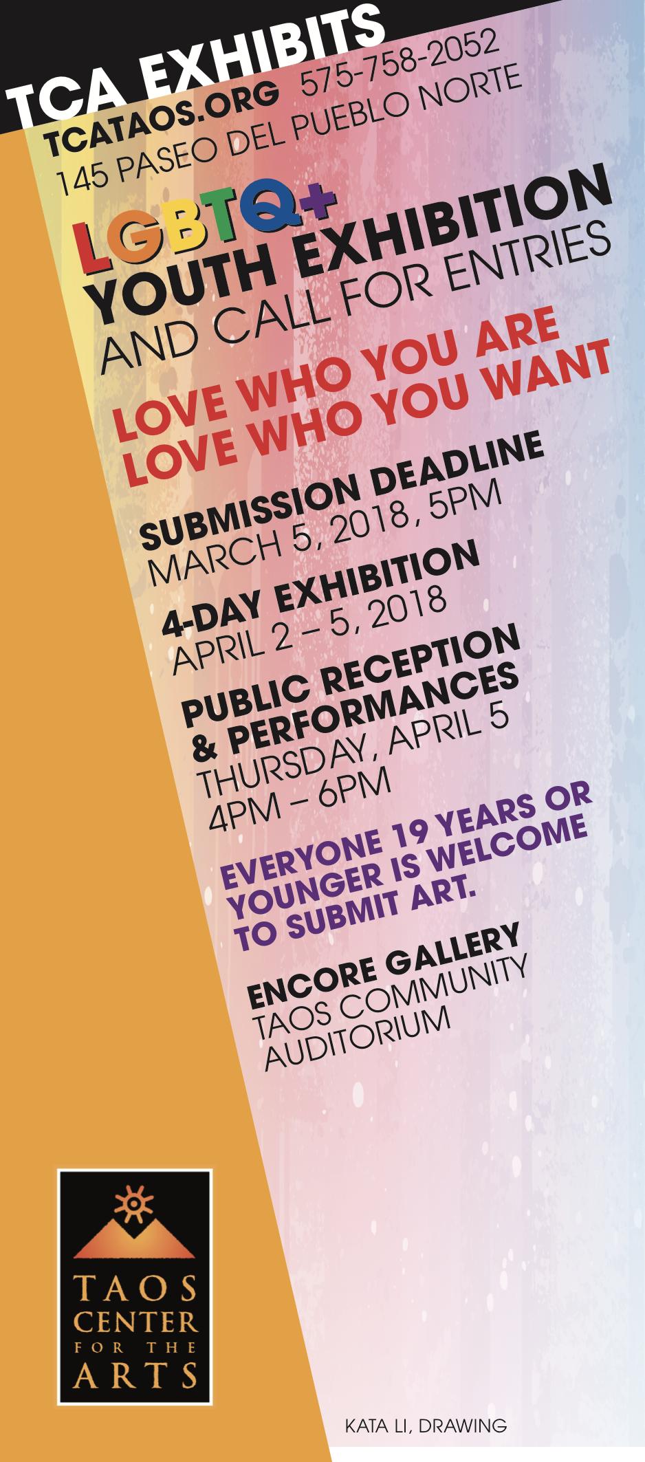 TCA LGBTQ art show