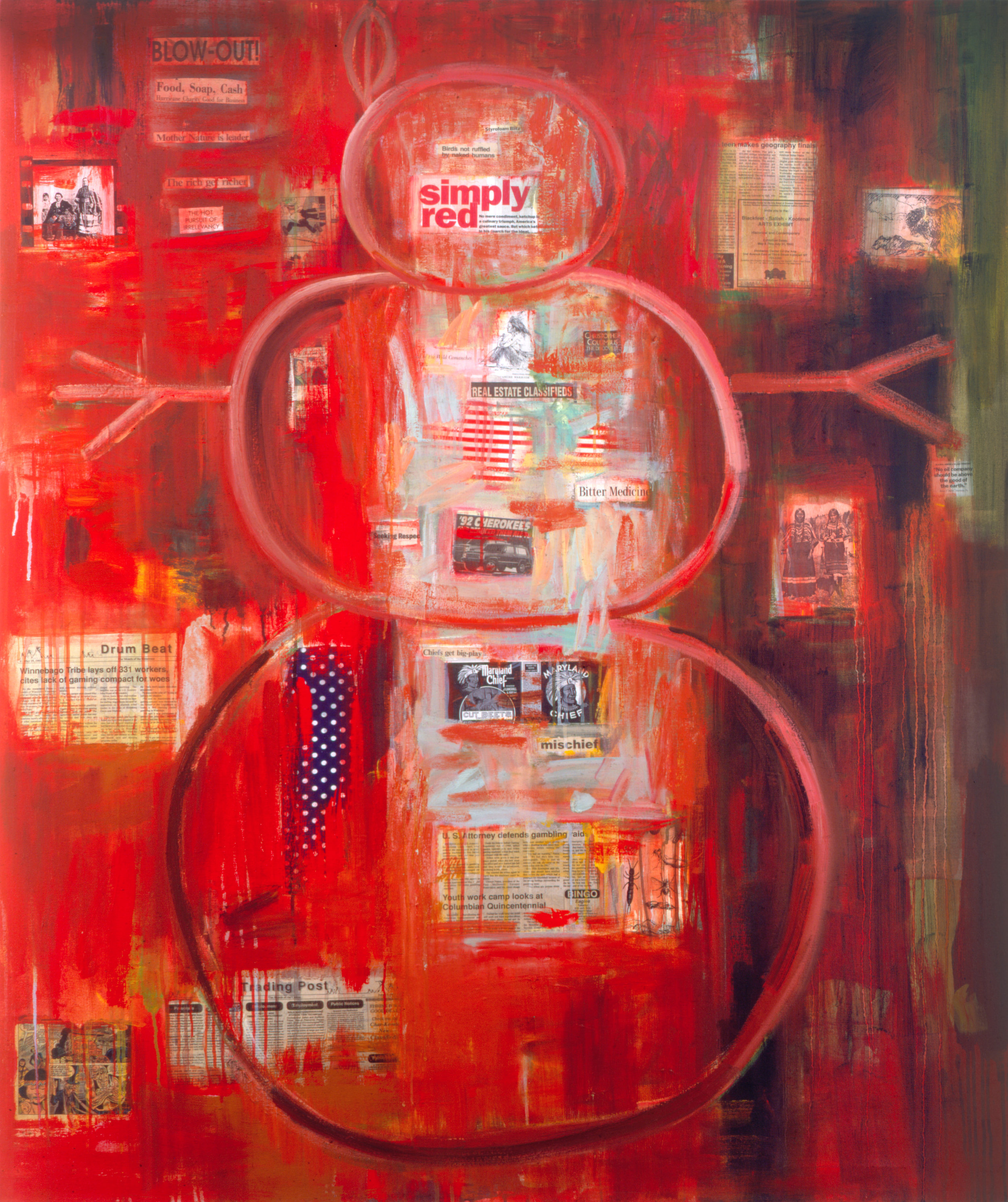 I See Red (Snowman), 1992