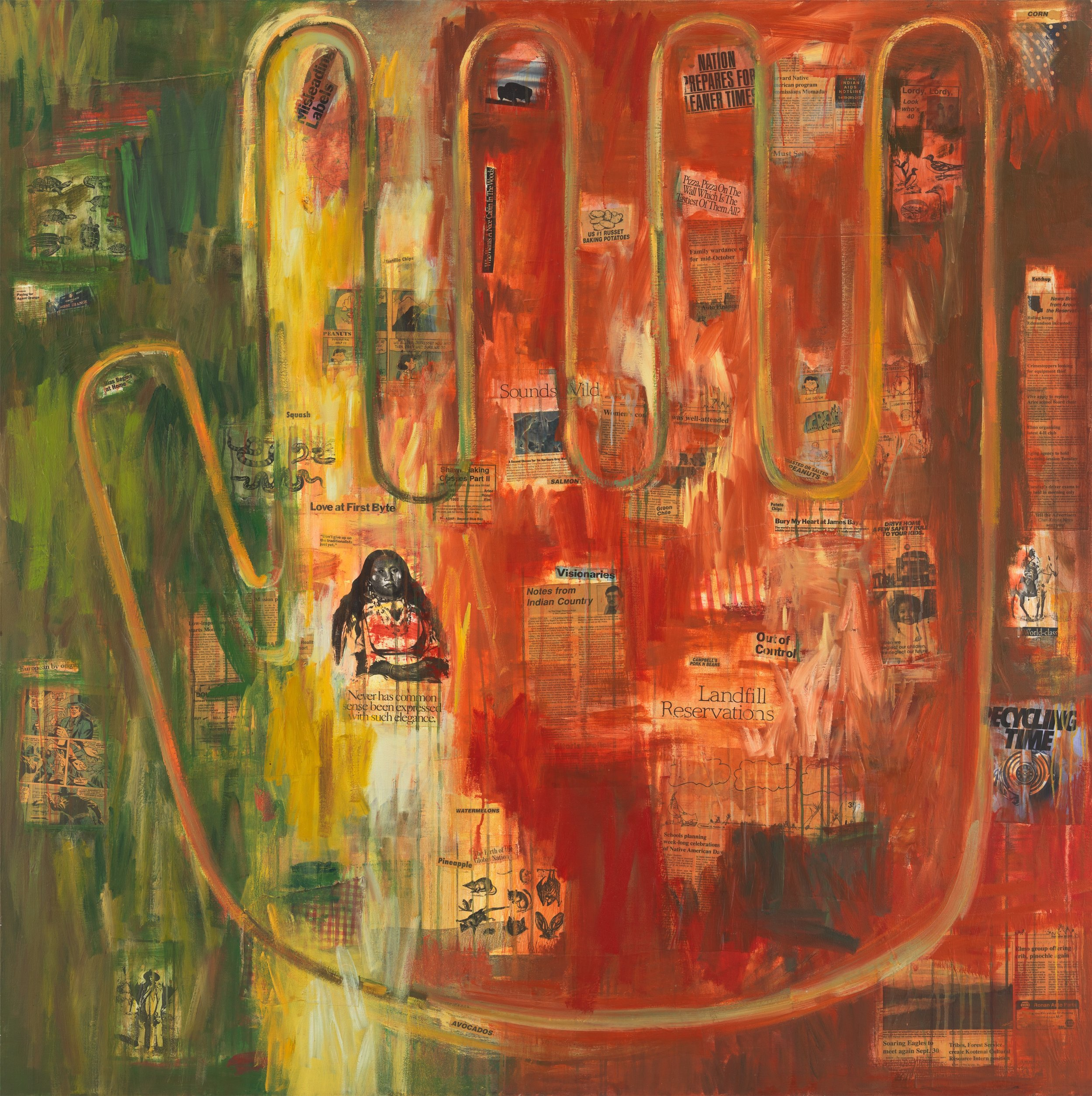 Indian Hand, 1992