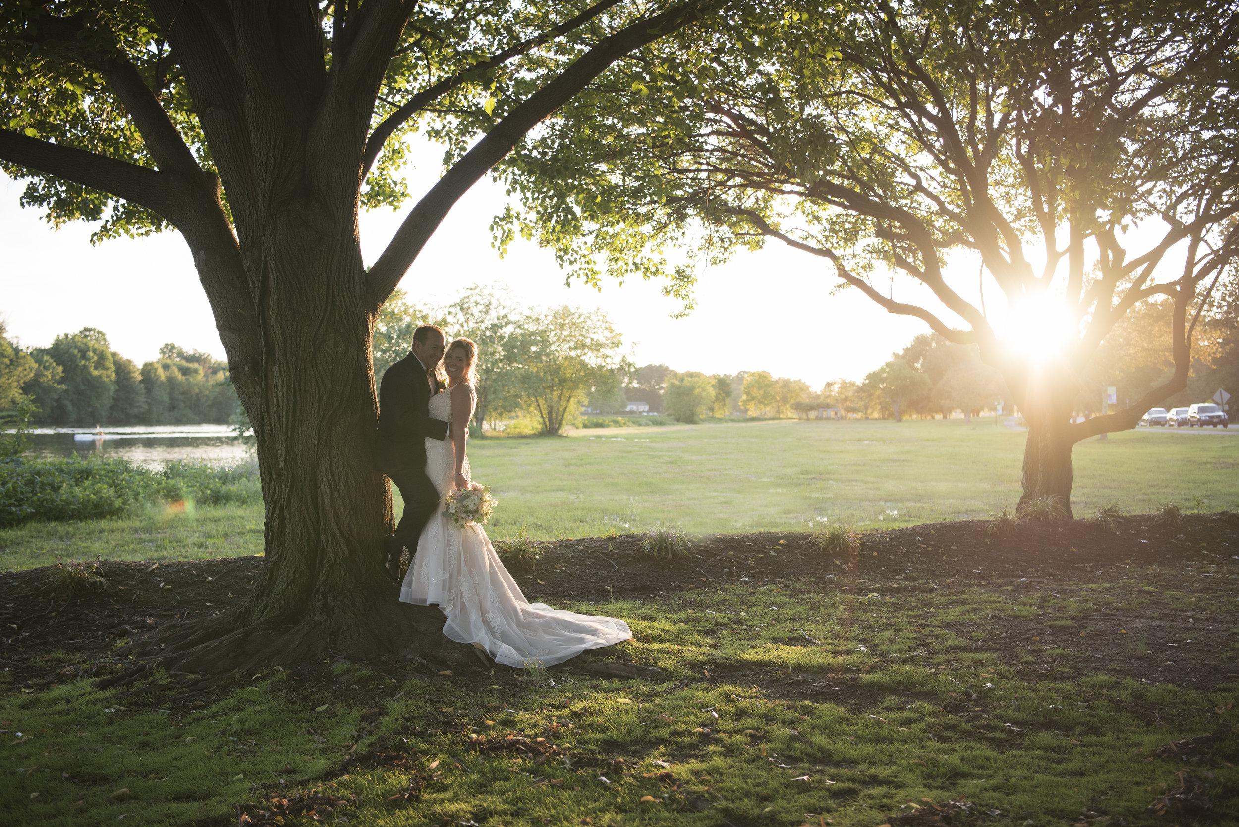 Wedding at Camden County Boathouse