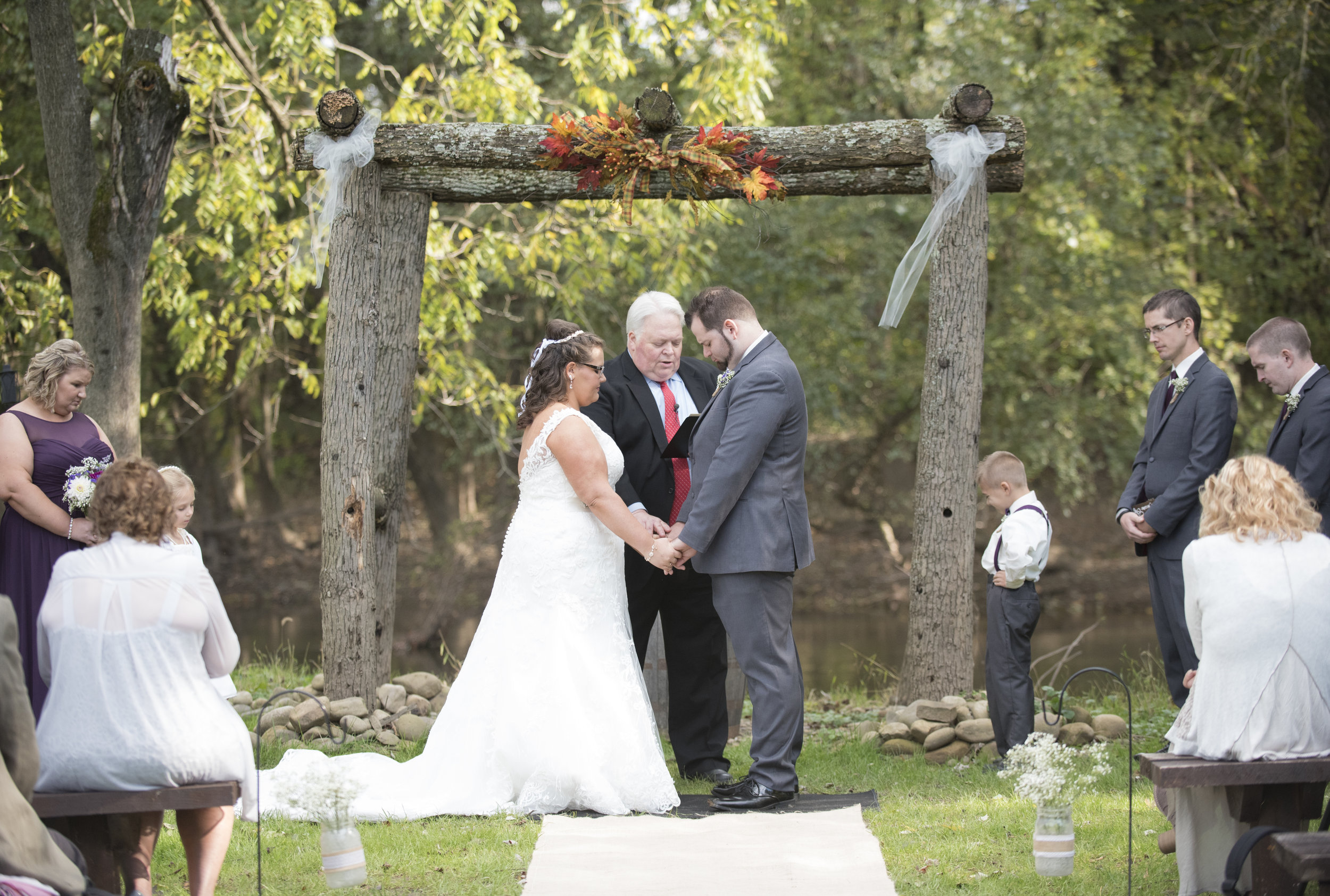 The Stone Barn Winery Farm Wedding