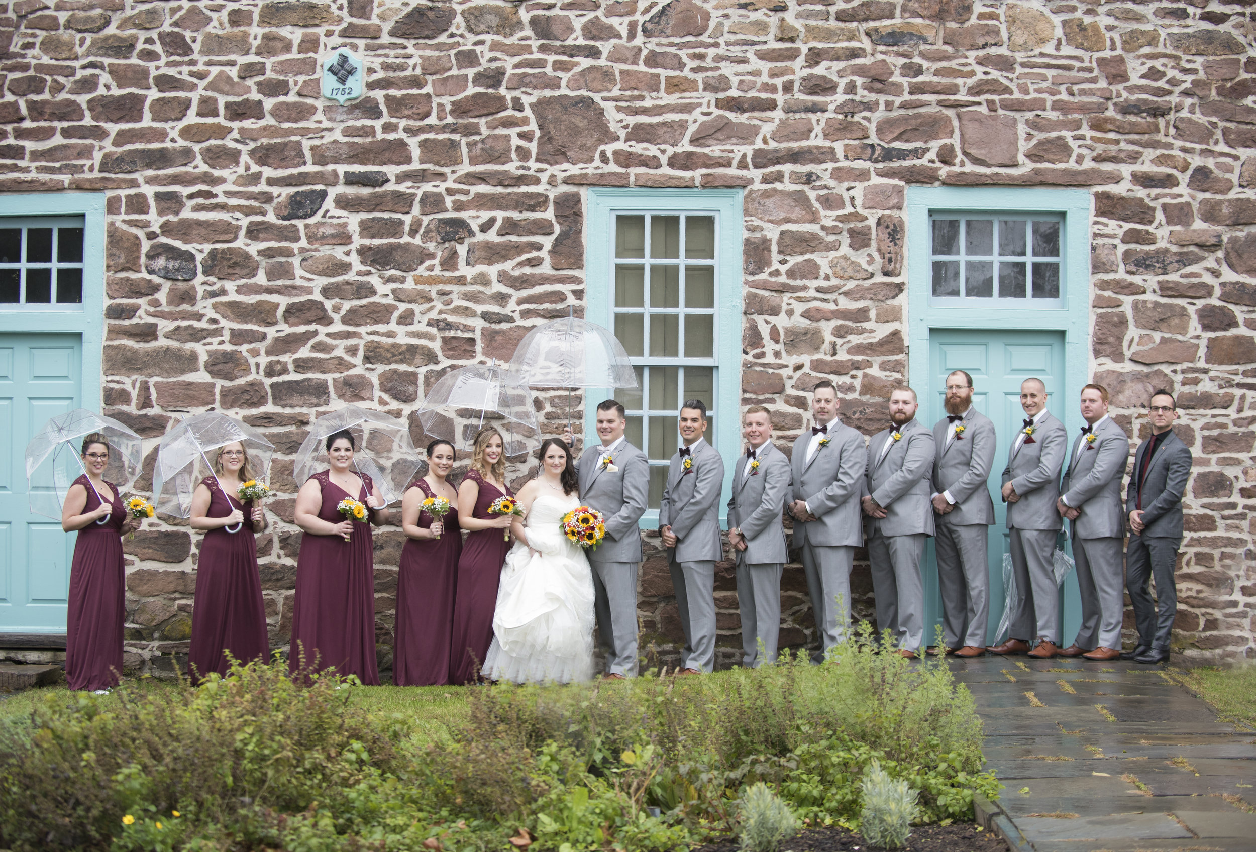 Graeme Park Wedding