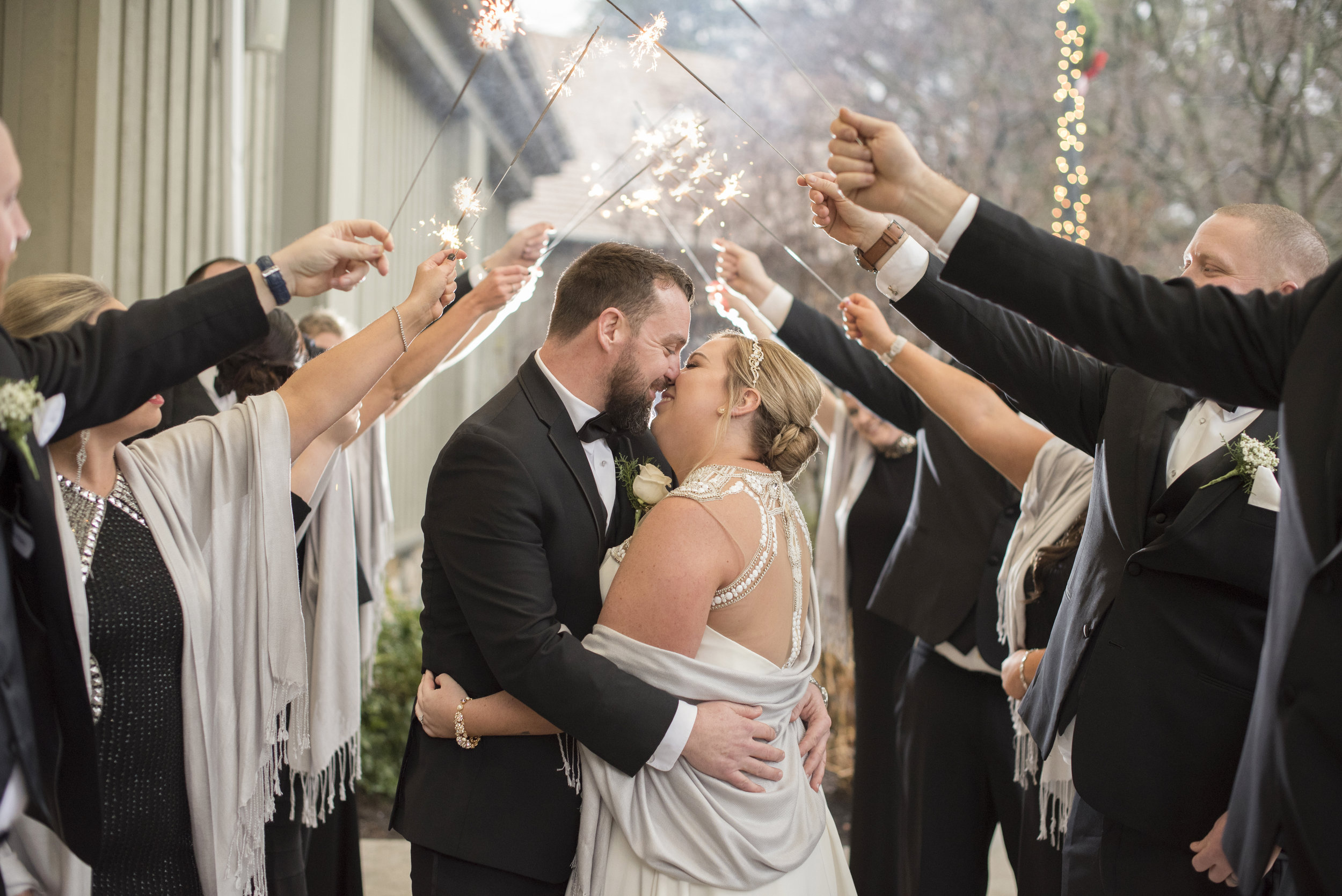 NYE Wedding at Downingtown Country Club, in Downingtown PA