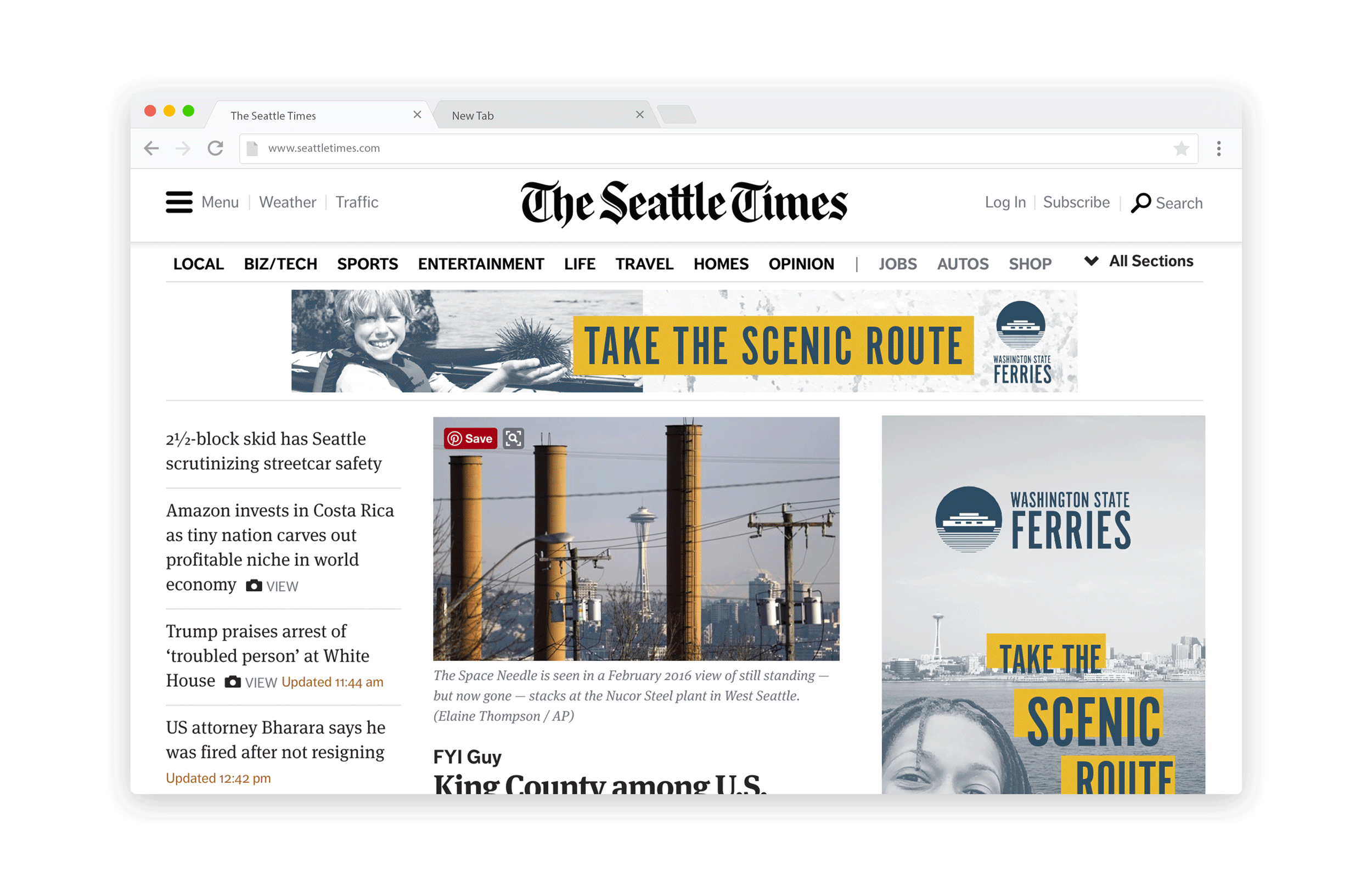 seattle times online advertising