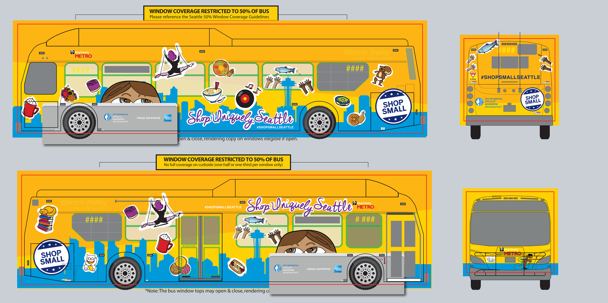 bus wrap design