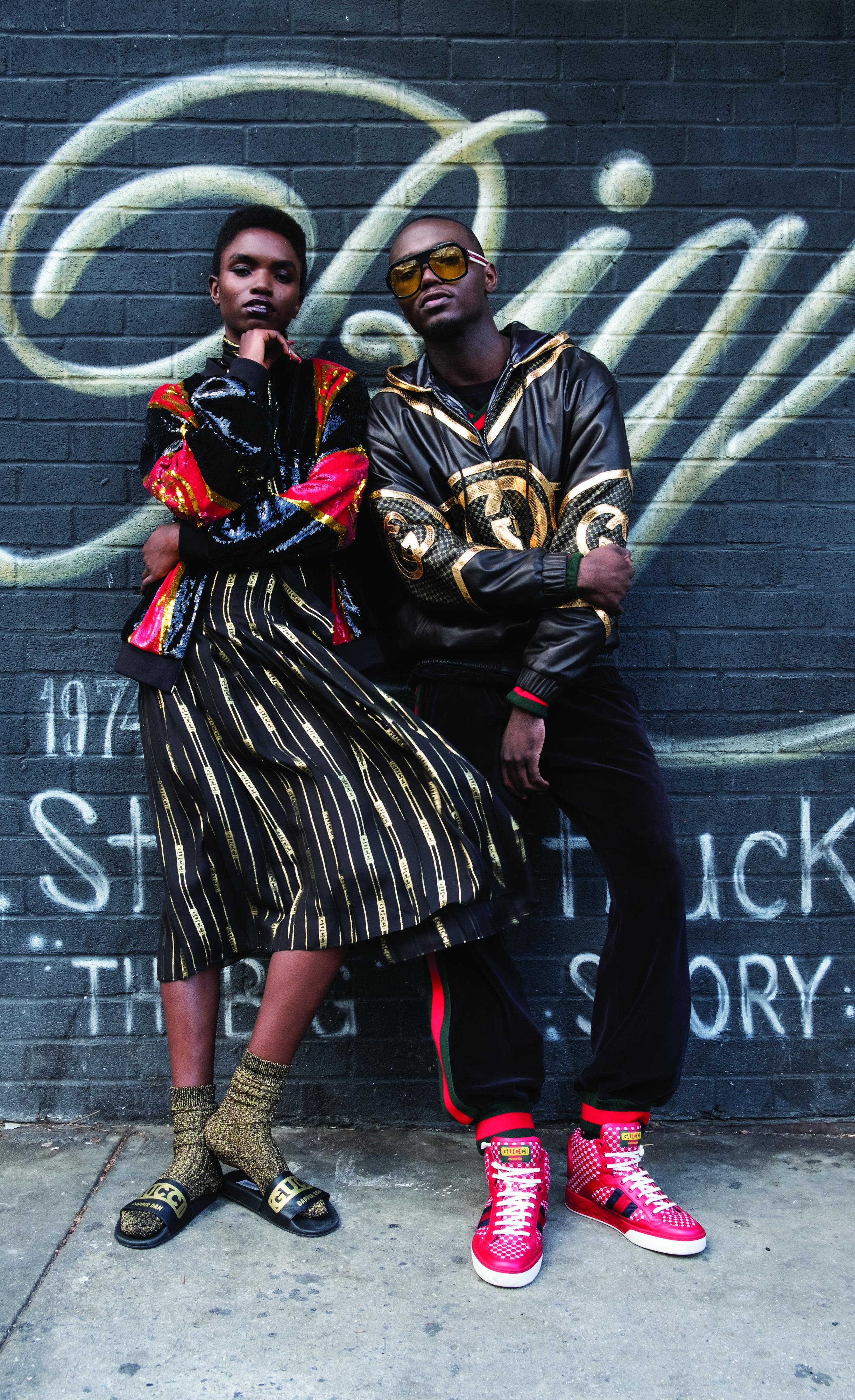 Interview Magazine/ Gucci-Dapper Dan