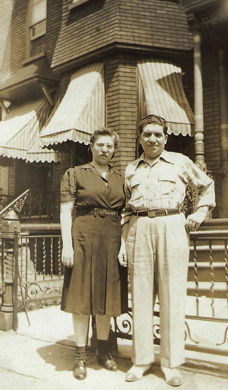 "Great Grandparents: ""Pina"" and Sam"