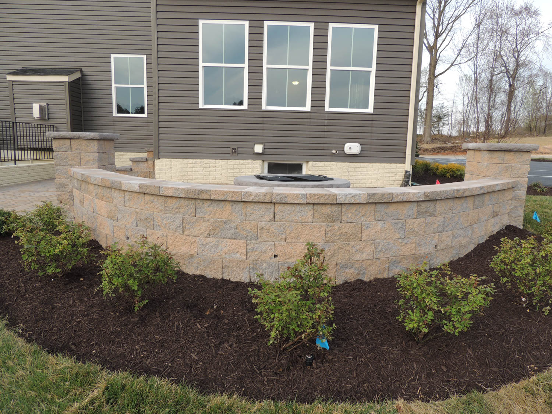 Retaining and Garden Walls   J Gonzalez Construction   Patio ...