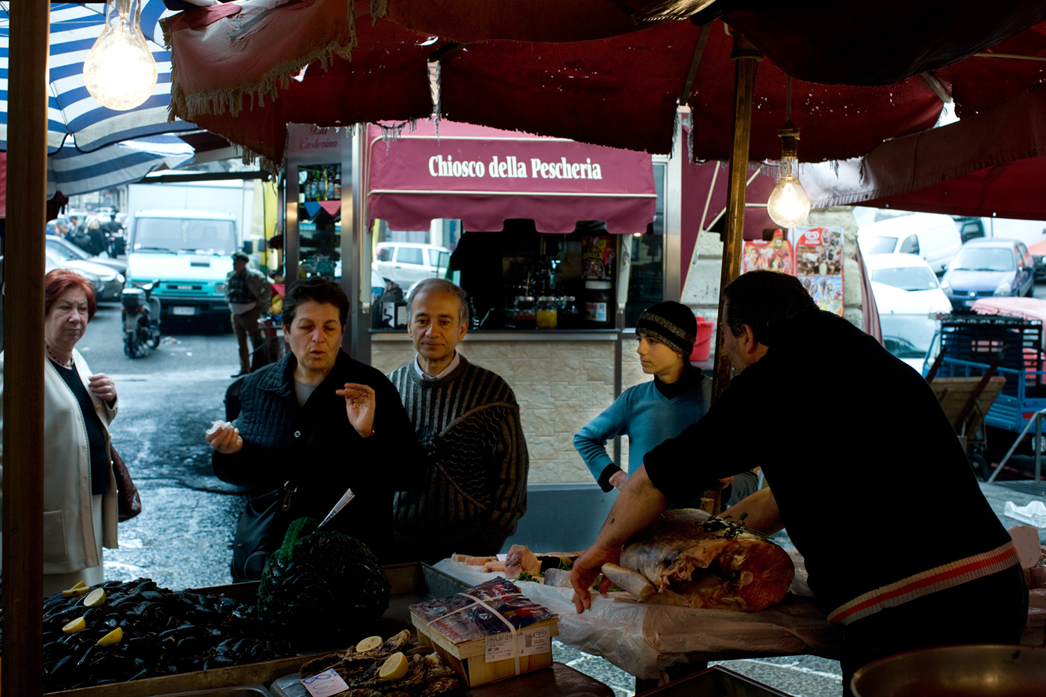 Fish Market Chico! Read my earlier post to learn about these drink shacks unique to Catania.