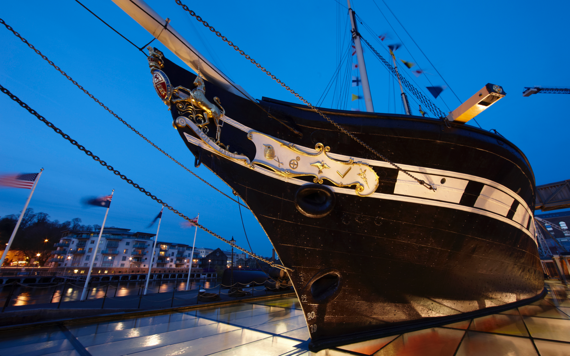 Client:  ss Great Britain Trust   Collaborators:  Work undertaken at WSP in collaboration with Alec French Architects, Arup, Capita   Image:  courtesy of David Noton