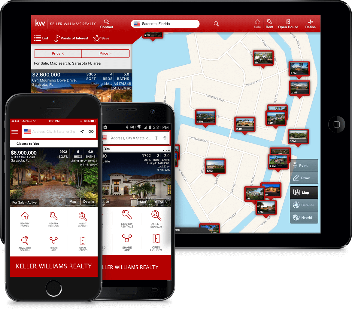 Look on the Go - Get FREE instant access from any cell or tablet to the local homes you care about most. More than 4 million homes available on Android, iPhone and iPad.