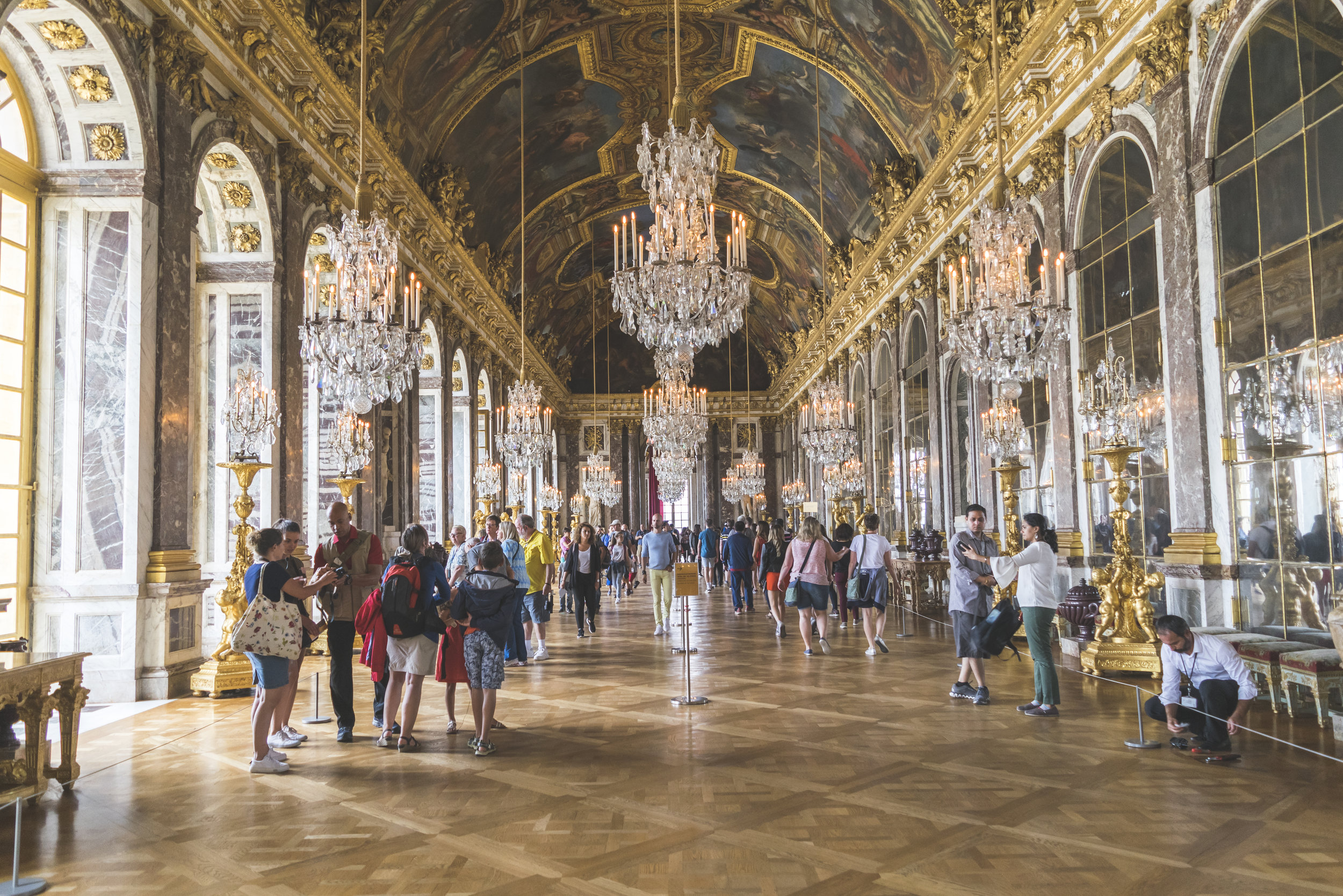 Hall of Mirrors at Château de Versailles, Versailles