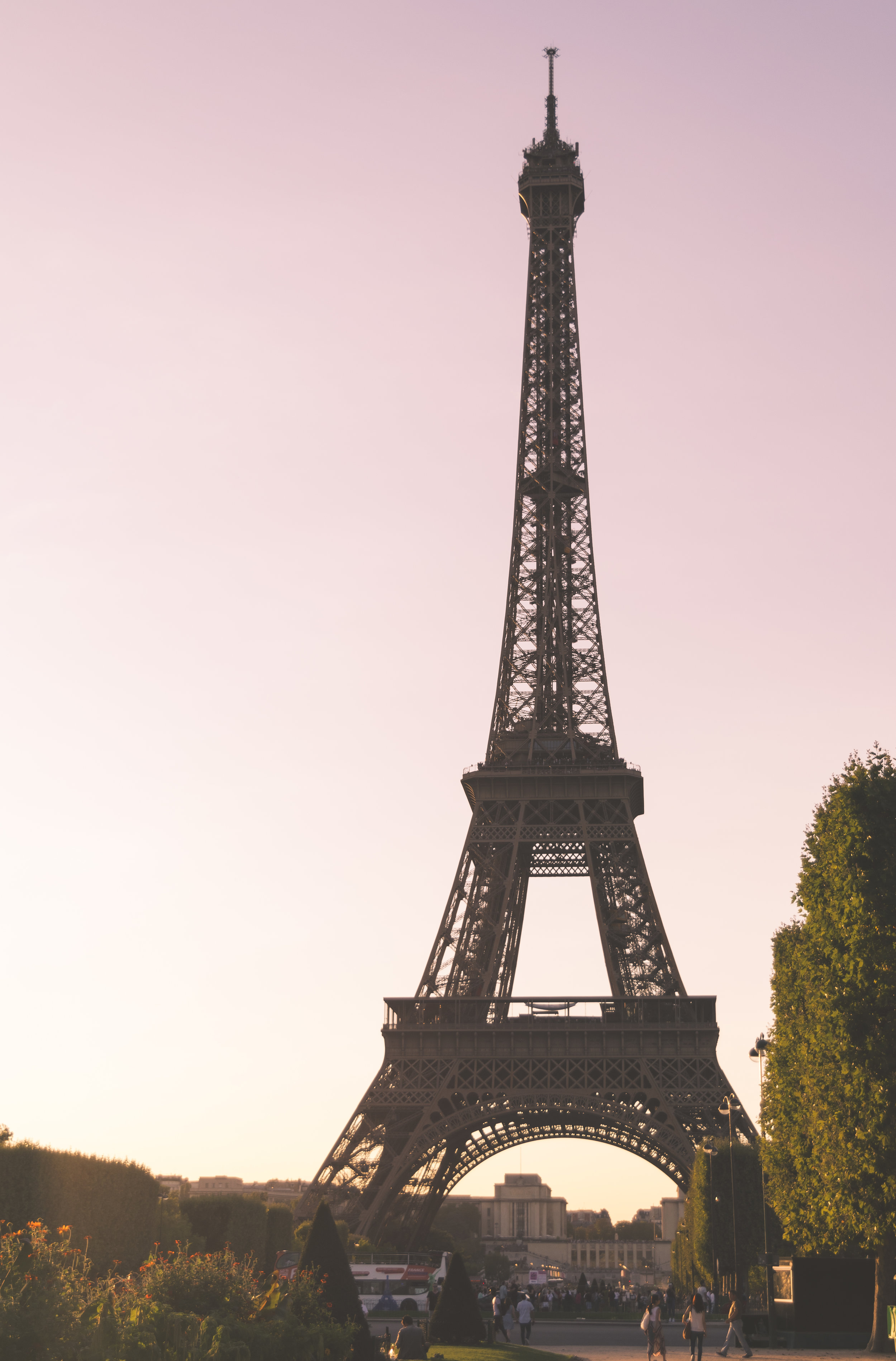 Tour Eiffel at Sunset, Paris