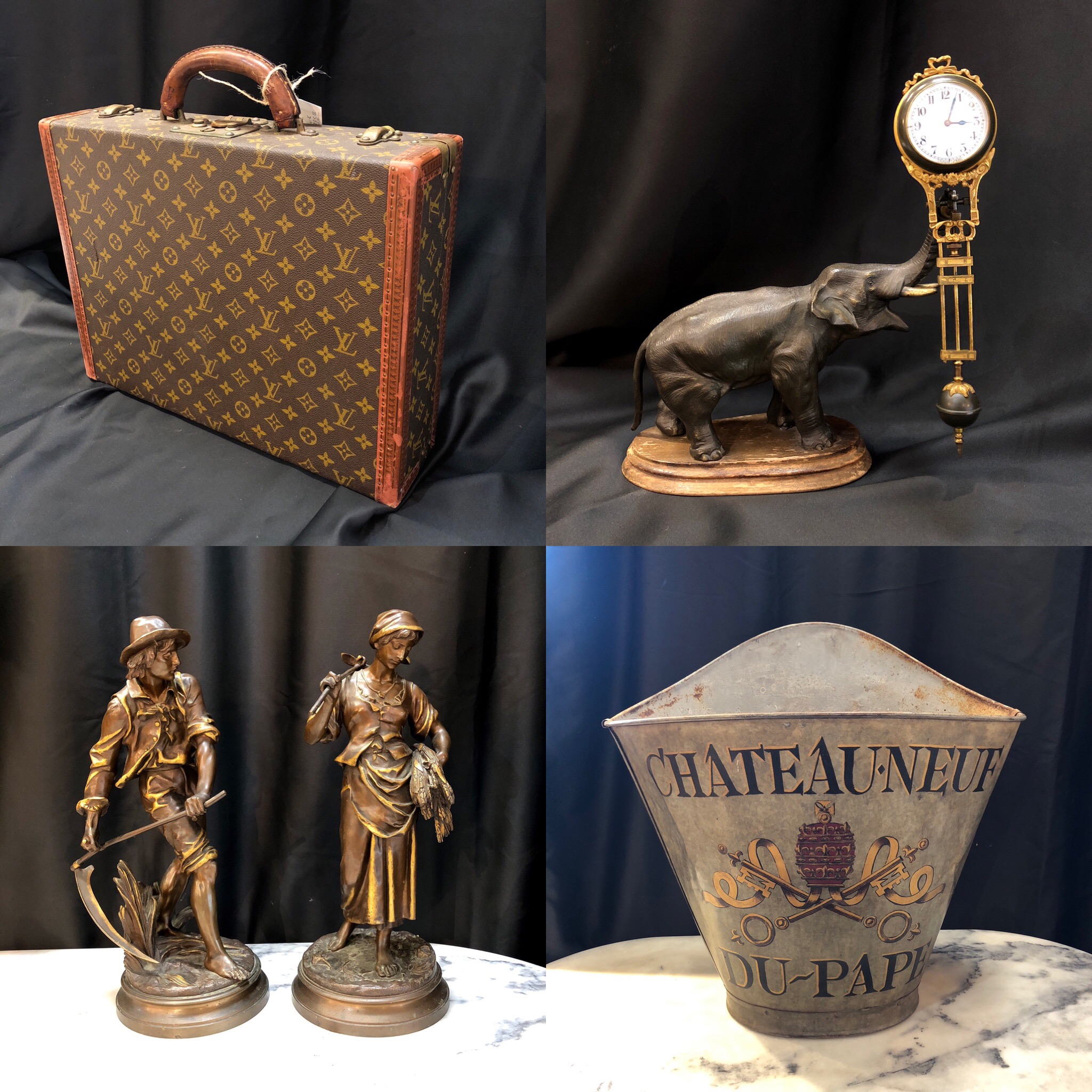 Just a few pieces being auctioned December 16th at 12:00pm on invaluable.com