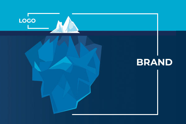A logo is just the tip of the iceberg.