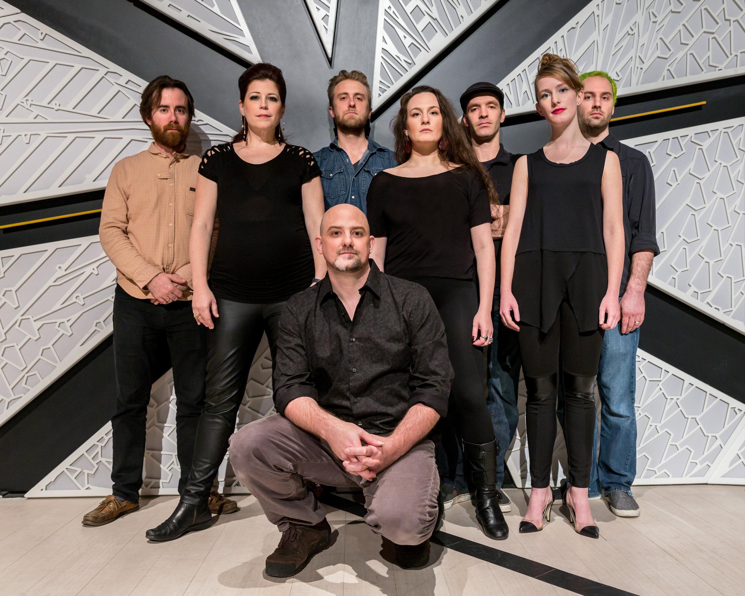 Andrew McKenna Lee with The Knells, photo credit Scott Friedlander
