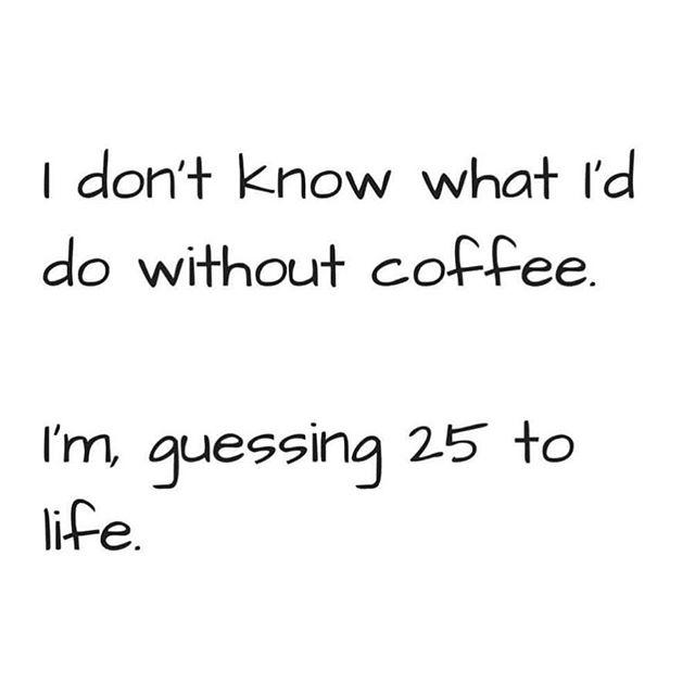 Scary but True ☕️ #coffee #coffeeislife #coffeetime #caffeine #coffeeaddict #coffeehouse