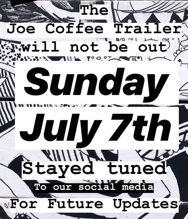 ☕️ check back for future updates! #joecoffeela #joecoffeetrailer #noho