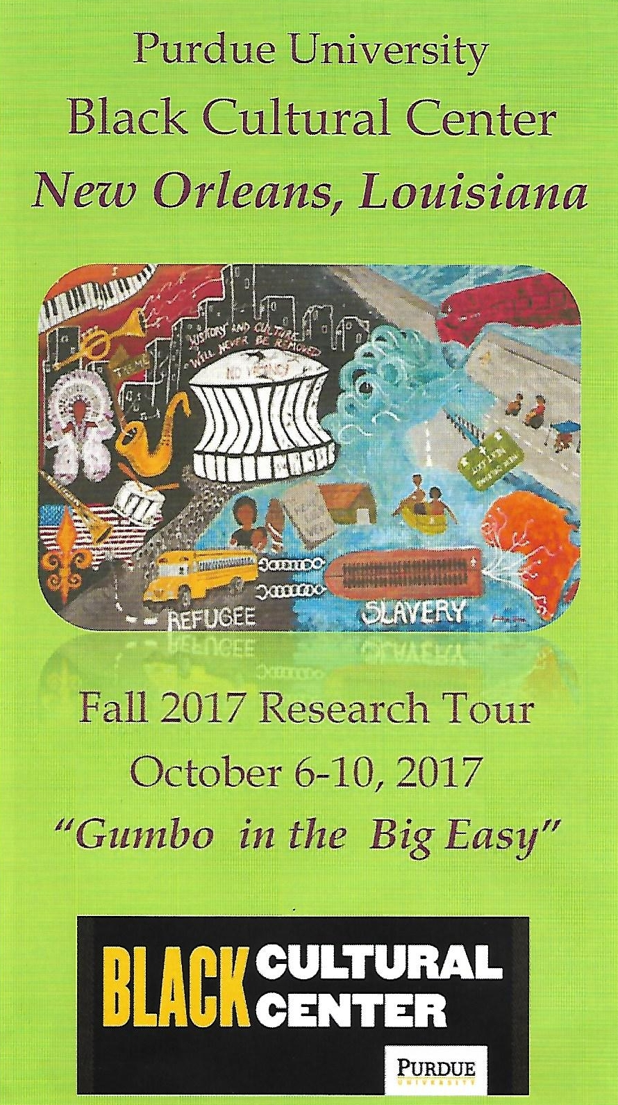 New Orleans Scholarly Tour: Cultural Arts Festival