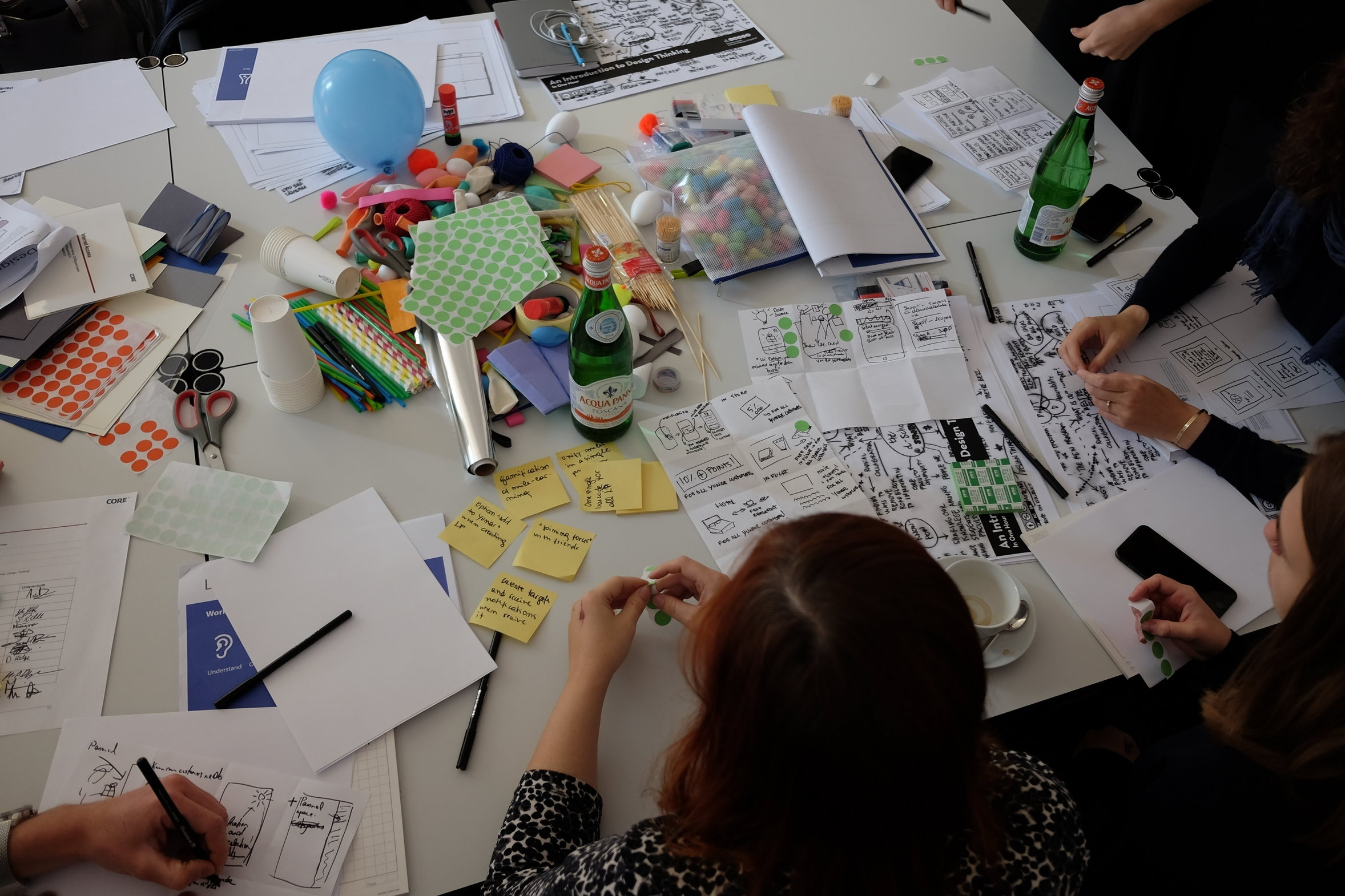 Design Thinking Workshop - Learn the Design Thinking process in a 2-day workshop.