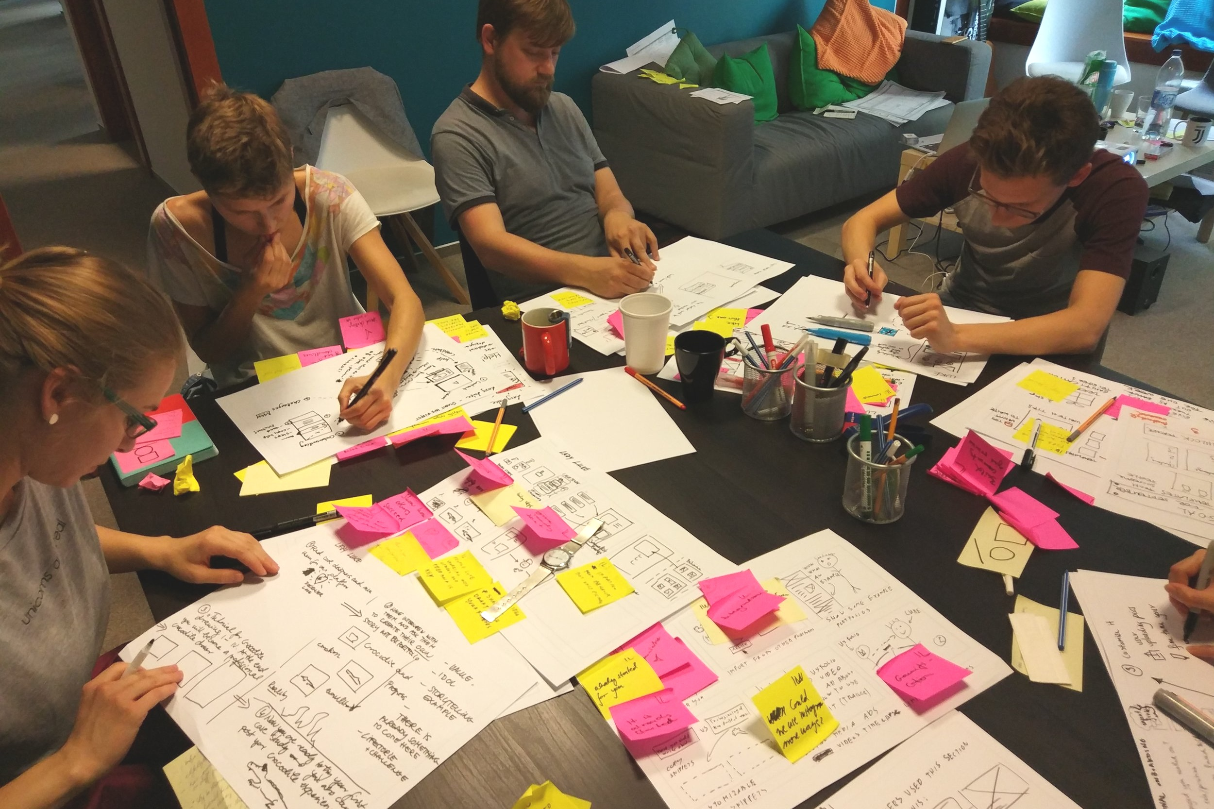 Design Sprint Training - Learn how to apply the Google Venture Design Sprint process in a 2-day workshop.