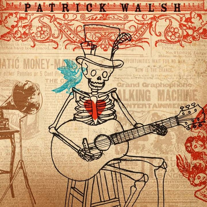 Patrick Walsh is known for his own brand of California country. He's a multi-instrumentalist with an exciting one-man-show! It's great to have him back in our pub!