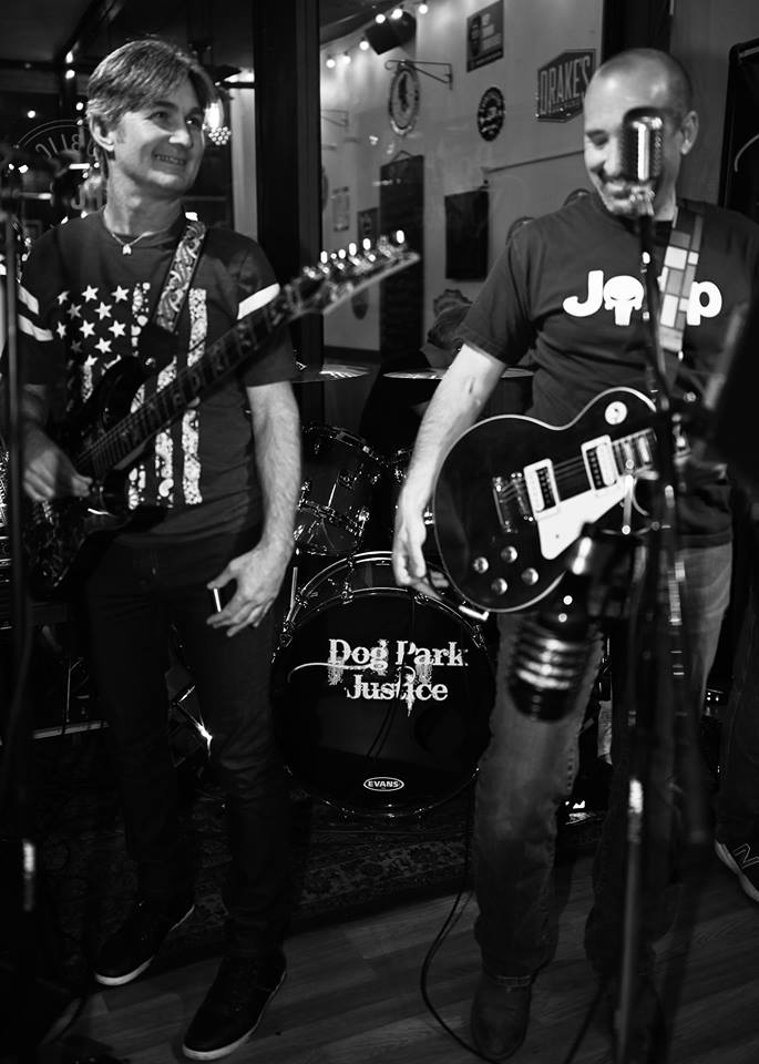 Dog Park Justice is back in the pub with their dance-worthy high-energy rock n' roll! Classic Rock, Country, and alternative jams will get your Saturday night on pace for greatness! We'll see you in the pub.