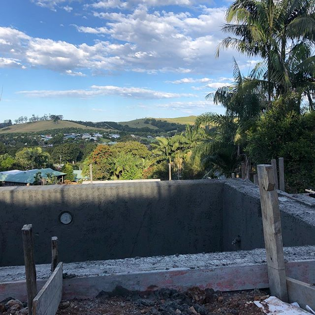 BANGALOW PROJECT  @suncatcherpools 👌🏻 #architectural#urbanspacesbuildingco#builder#construction#byronbaybuilders#pool