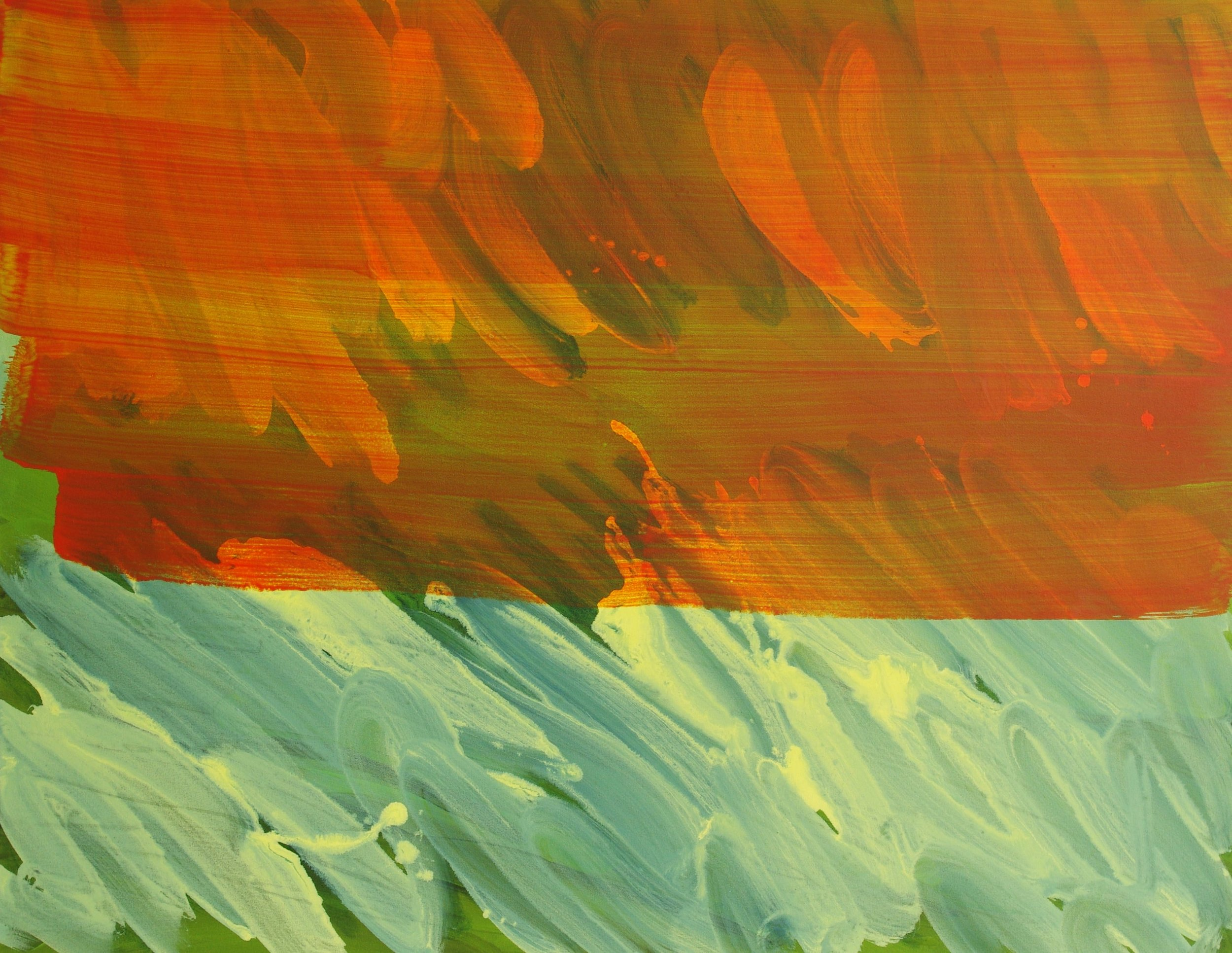Glade  2012, 95 x 122cm acrylic on canvas (SOLD)