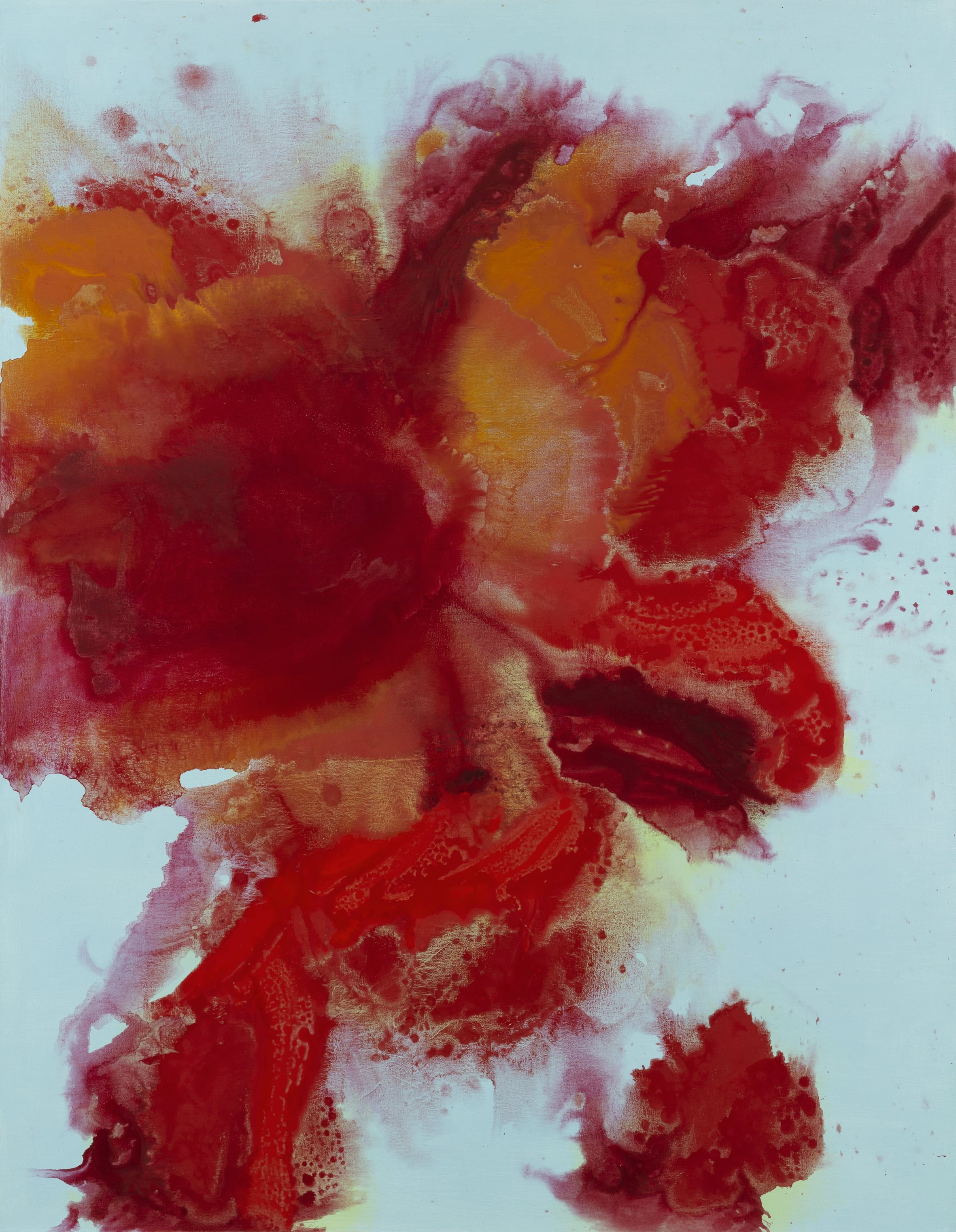 Outburst 2  2012, 135 x 105cm acrylic on canvas (SOLD)