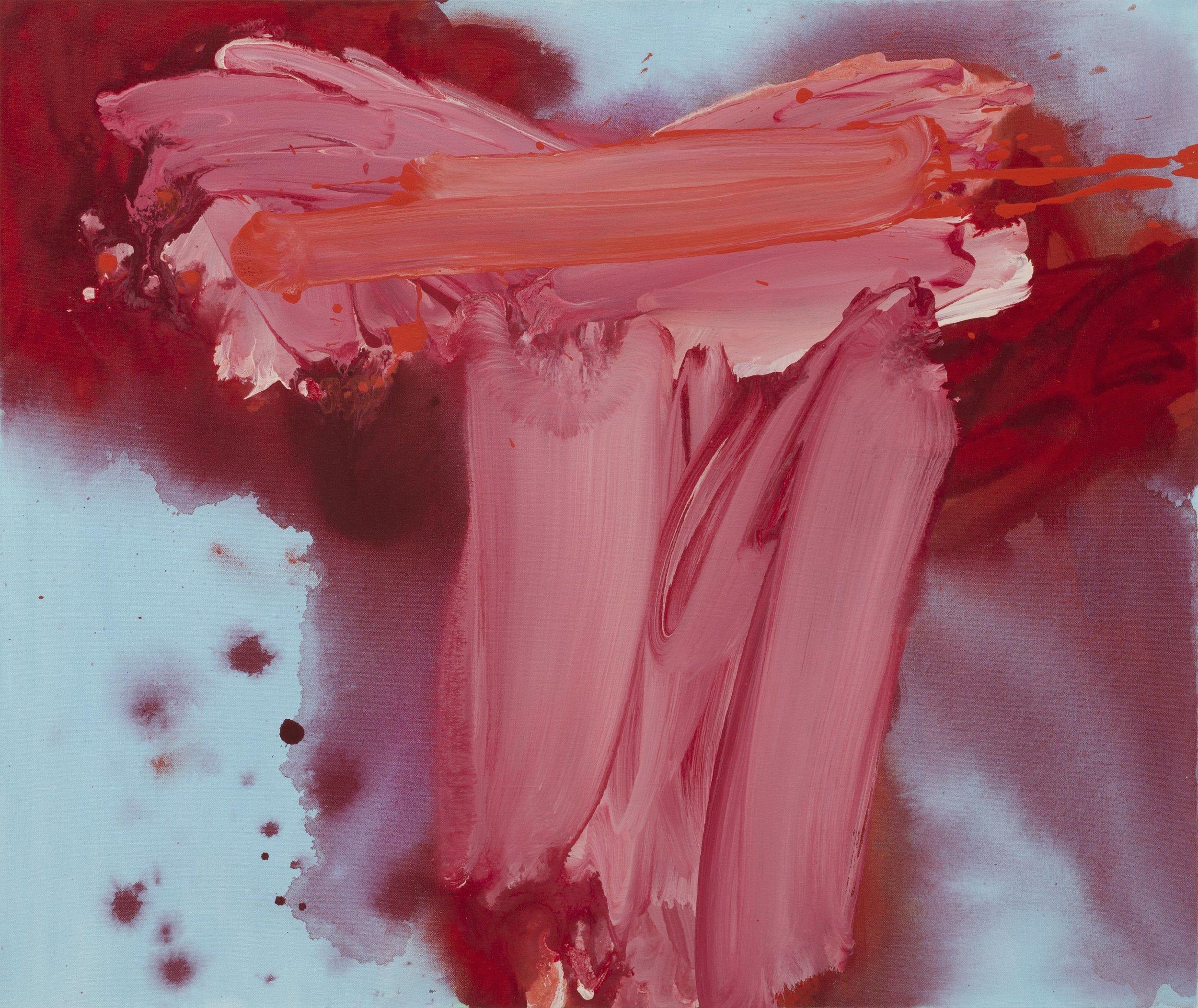 Verve  2011, 64 x 76cm acrylic on canvas
