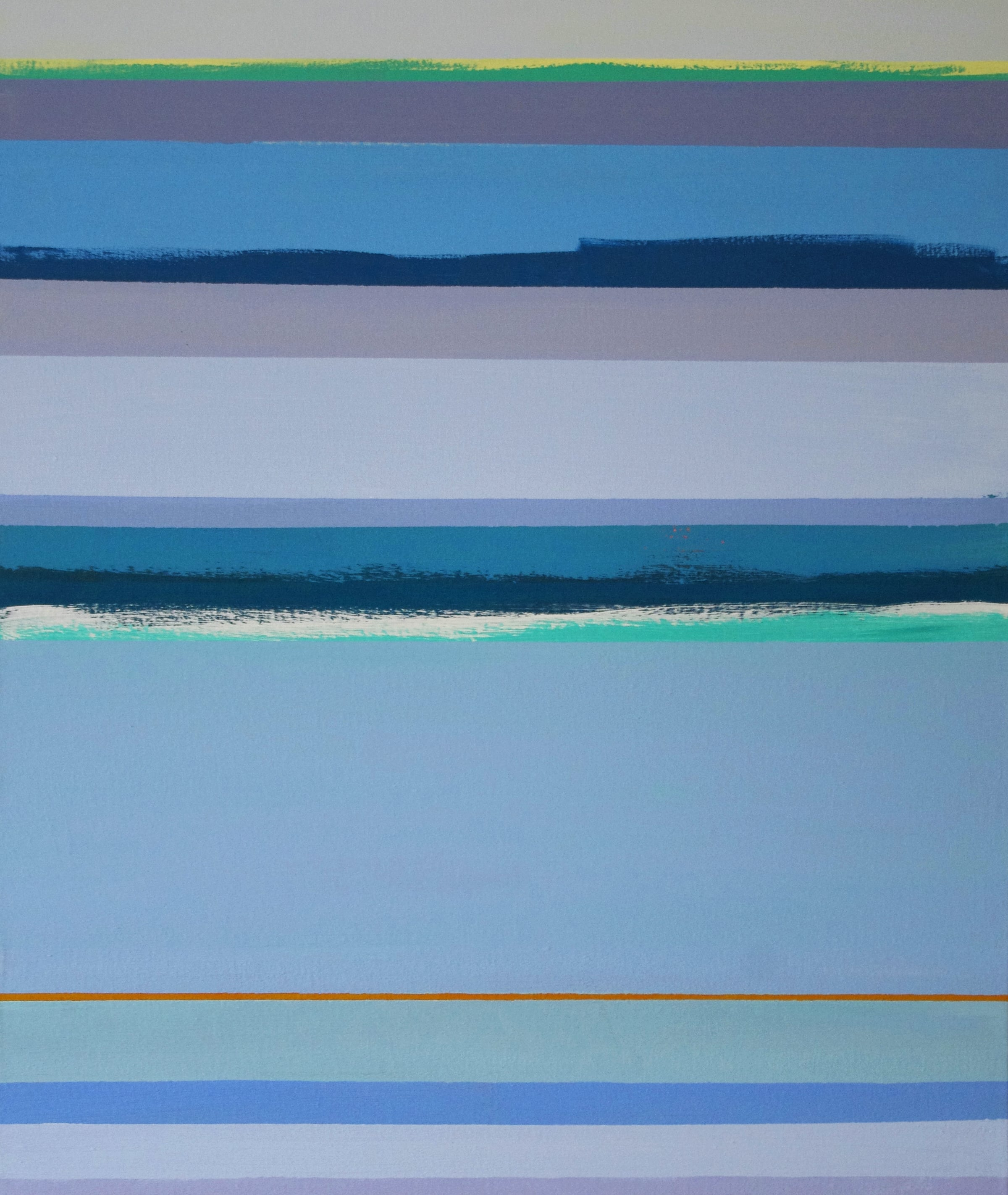 Offshore 1  2009, 76 x 64cm acrylic on canvas (SOLD)